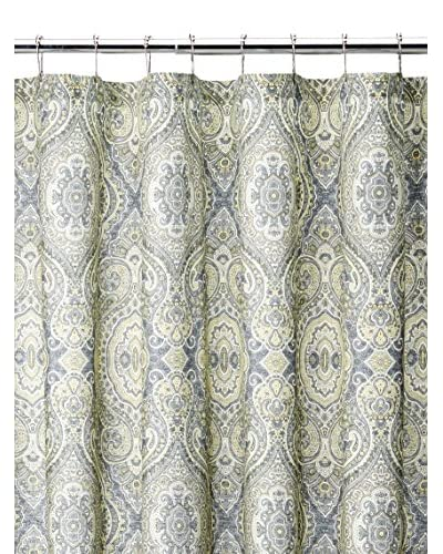 Tommy Bahama Turtle Cove Shower Curtain, Yellow/Gray