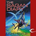 The Sagan Diary Audiobook by John Scalzi Narrated by Stephanie Wolfe, John Scalzi
