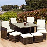 Oseasons 8-Seater Cube Garden Patio Furniture Set