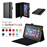 Case for Surface Pro 1st/Surface Pro 2 - SHEROX Premium Folio Case Cover with Stand for Microsoft Surface Pro 1st/Surface Pro 2 (10.6