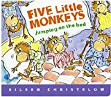 Five Little Monkeys Jumping on the Bed Lap Board Book (A Five Little Monkeys Story) (0547131763) by Christelow, Eileen