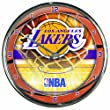 NBA Chrome Uhr Wanduhr Los Angeles Lakers