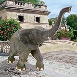 Grand Wildlife Elephant Home Garden Statue Sculpture Figurine