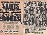 Richard Dawson Family Feud ad original clipping magazine photo lot #R0329