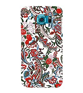 Decorative Floral Design 3D Hard Polycarbonate Designer Back Case Cover for Samsung Galaxy S6 Edge+ G928 :: Samsung Galaxy S6 Edge Plus G928F