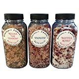 Heavenly Organics Bodacious Trio of Bath Salts