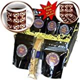 Sandy Mertens Easter - Easter Egg Cookie Pattern - Coffee Gift Baskets - Coffee Gift Basket (cgb_42931_1)