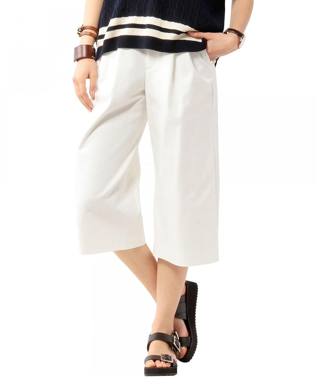 Amazon.co.jp: (ユナイテッドアローズ) UNITED ARROWS □UAW C/PU TUCK GAUCHO 15142993825 01 White 38: 服&ファッション小物通販