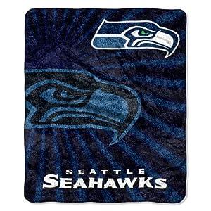 NFL Seattle Seahawks Strobe Sherpa Throw Blanket, 50x60-Inch by Northwest