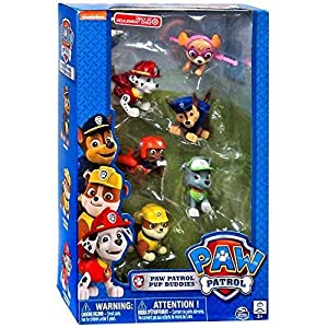 Exclusive Paw Patrol Pup Buddies Figures (6 Pups per pack) from Spin Master