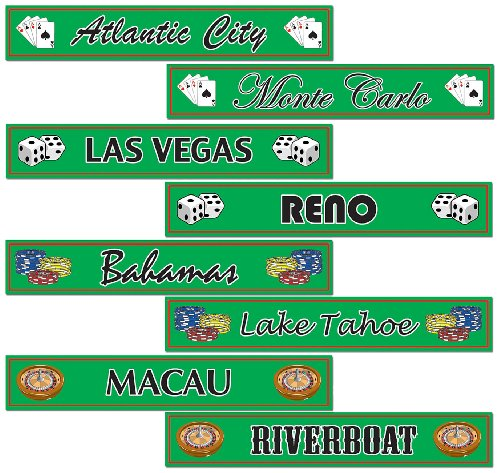 gambling-destination-street-sign-cutouts-party-accessory-1-count-4-pkg