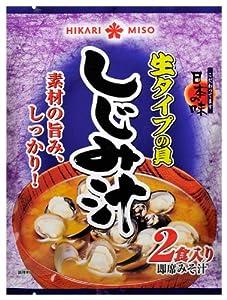 ひかり味噌 生タイプの具 しじみ汁 2食×10個