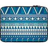 Snoogg Aztec Pattern Triangular 12 To 12.6 Inch Laptop Netbook Notebook Slipcase Sleeve