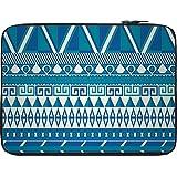 Snoogg Aztec Pattern Triangular 13 To 13.6 Inch Laptop Netbook Notebook Slipcase Sleeve