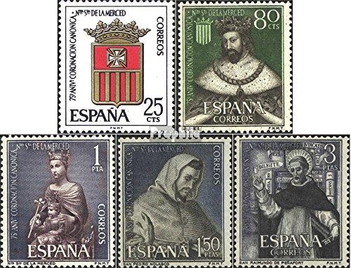 Spanien 1413-1417 (kompl.Ausg.) postfrisch 1963 Kanonische Krönung (Briefmarken für Sammler)