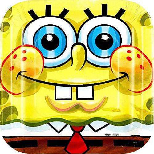 Spongebob Cake Plates (8-pack) - 1