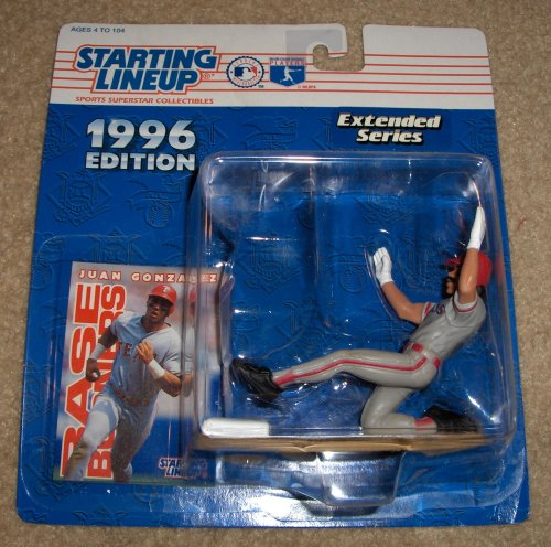 1996 Juan Gonzalez MLB Starting Lineup Extended Series Figure - 1