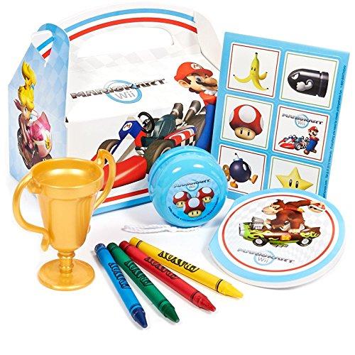 Mario Kart Wii Party Favor Box