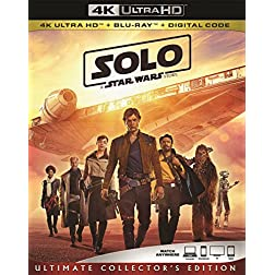 Solo: A Star Wars Story [4K Ultra HD + Blu-ray]