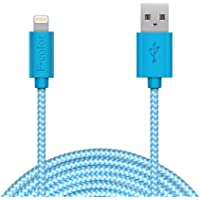 F-color MFi Braided Lightning Cable Phone Charger Cord