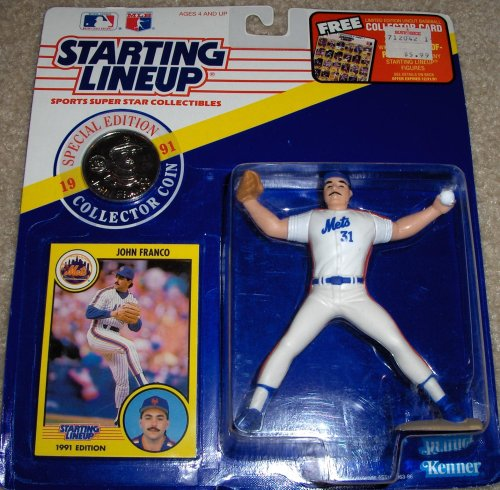 John Franco 1991 MLB Starting Lineup