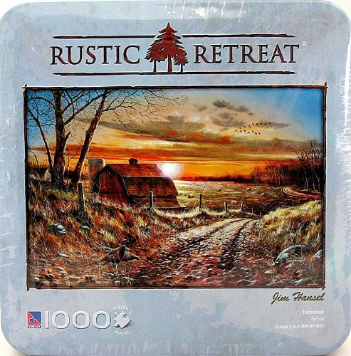 Rustic Retreat 1000 Piece Puzzle Farmstead Jim Hansel #50402-3