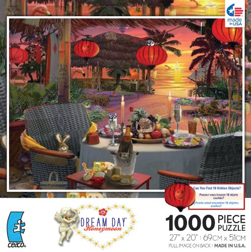 Dream Day Honeymoon Dinner for Two 1000 Piece Jigsaw Puzzle