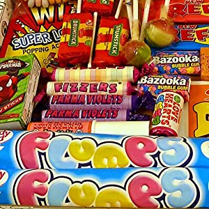 The Letterbox Buster! - Crammed Full Of Mouthwatering Old Fashioned Retro Sweets - 100% Money Back Guarantee! - Perfect Inexpensive Birthday Gift, Get Well Soon, Congratulations or Anniversary Present Ideas For Him and Her: Boys & Girls, Mums & Dads, Men