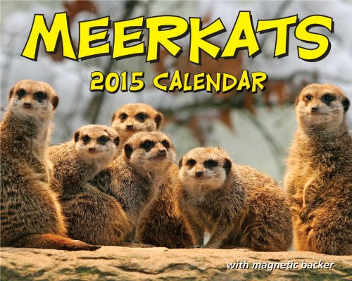 Meerkats 2015 Mini Day-to-Day Calendar