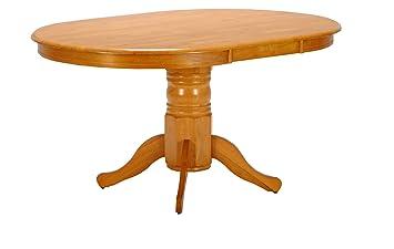Weber Industries 31043 Windsor Table Ovale Teinte Miel 150 x 106 x 75,5 cm