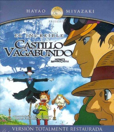 Howls Moving Castle - El Increible Castillo Vagabundo Blu-ray en Español Latino Region A 1920 x 1080p