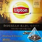 Lipton Th� Russian Earl Grey 20 sache...