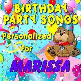Amazon.com: Happy Birthday to Marissa (Maressa, Marisa