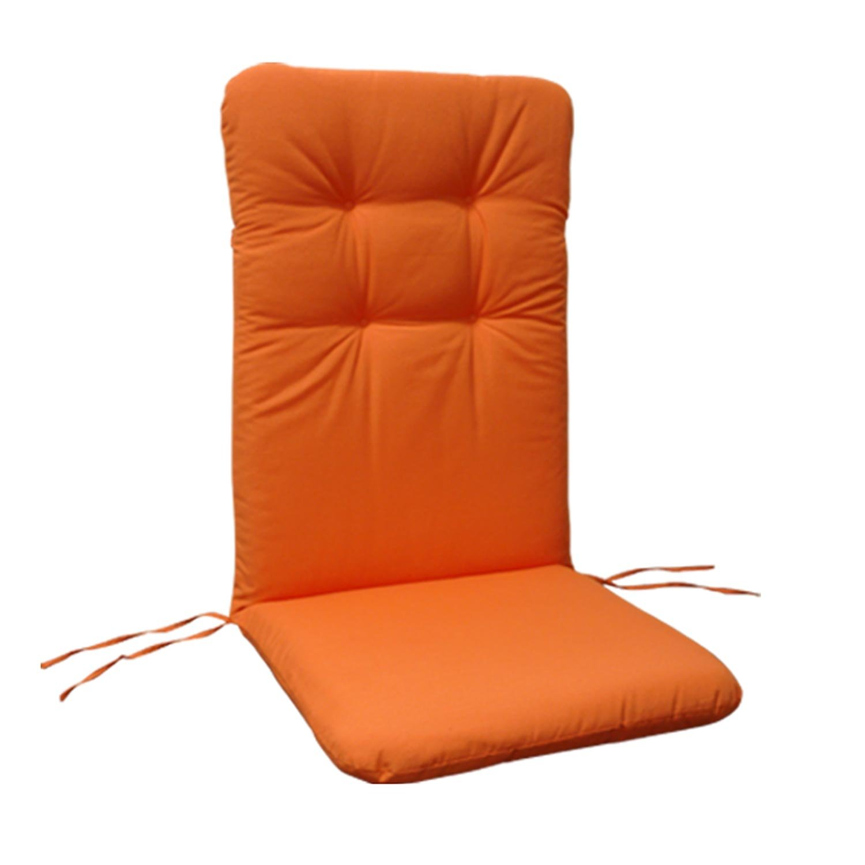 indoba® IND-70404-AUHL – Serie Relax – Gartenstuhl Auflage – Hochlehner, Orange jetzt kaufen