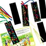 Scratch Art Bookmarks with Ribbons 17...