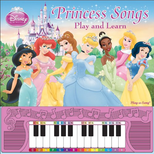 Disney Princess Piano Songbook: Play and Learn