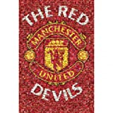 Manchester United FC Official Football Gift Mosaic Poster - A Great Christmas / Birthday Gift Idea For Men And Boys