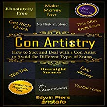 Con Artistry Audiobook by Edwin Piers,  Instafo Narrated by  Instafo