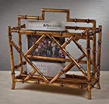 Magazine Rack - Canton Magazine Rack - Bamboo Style Magazine Holder