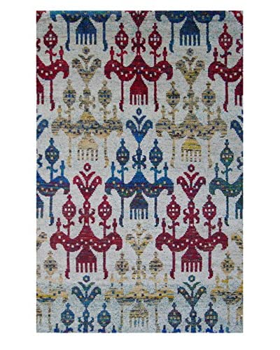 Meva Rugs Medallion Hand Knotted Rug