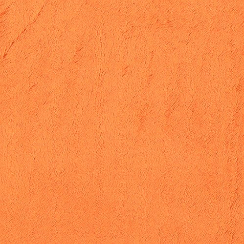 Minky Cuddle 3 Orange Fabric