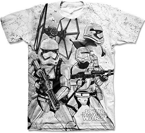 Star Wars Force Awakens Mens Troopers T-Shirt