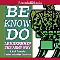 Be, Know, Do: Leadership the Army Way (       UNABRIDGED) by Frances Hesselbein, Richard Cavanagh Narrated by Ed Sala