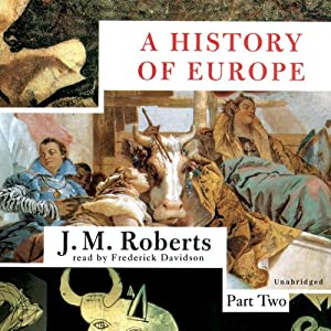 A History of Europe Audiobook