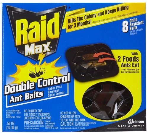 Raid Max Double Control Ant Bait-8 Ct. front-418999