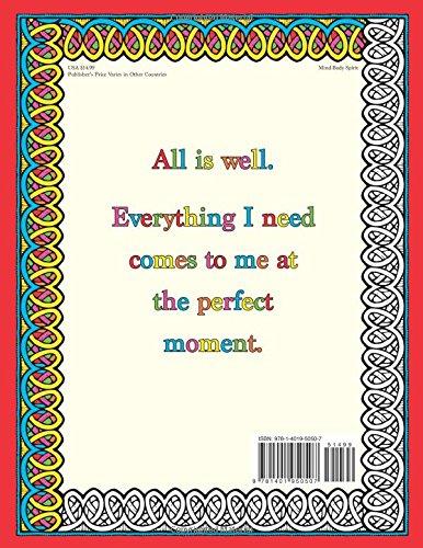 Libro para Colorear The Affirmations