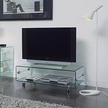 Mueble Auxiliar - Mesas de TV - Cristal CT-220 - iBERGADA