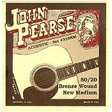 John Pearse 310NM Bronze Acoustic Guitar Strings, Medium