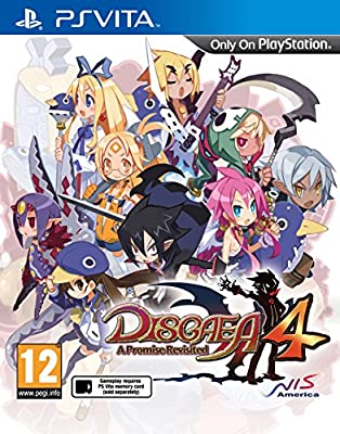 Disgaea 4: A Promise Revisited (Vita) from NIS America