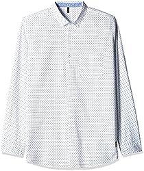 United Colors of Benetton Men's Casual Shirt (8903975161306_16P5AC71U008I_S_White)